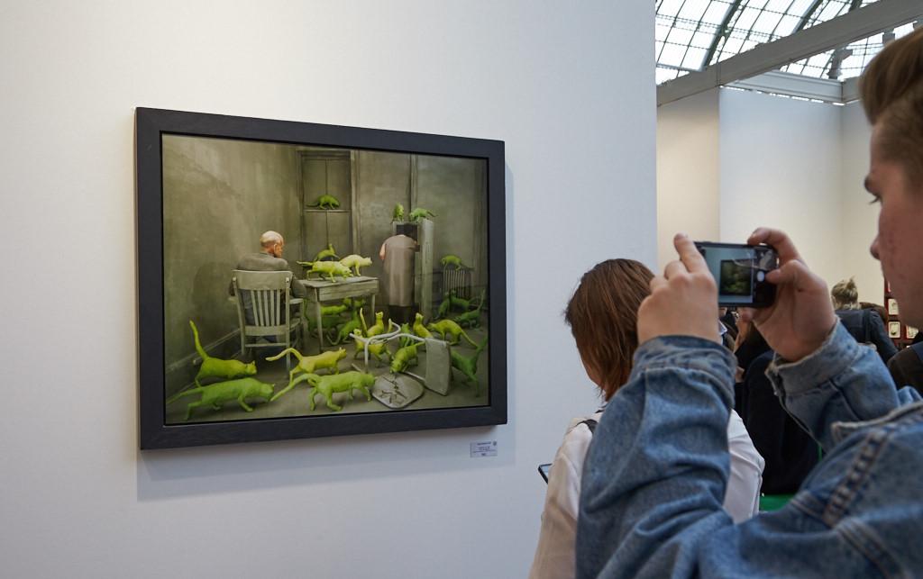 Sandy Skoglund på Paris Photo